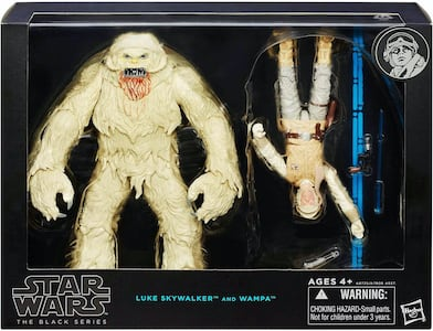 Luke Skywalker & Wampa