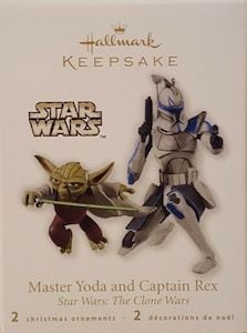 Master Yoda and Captain Rex