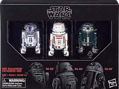 Red Squadron Droid 3 Pack
