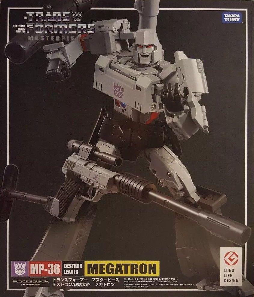 NOE,TAKARA TOMY Transformers MP-36 megatron toys