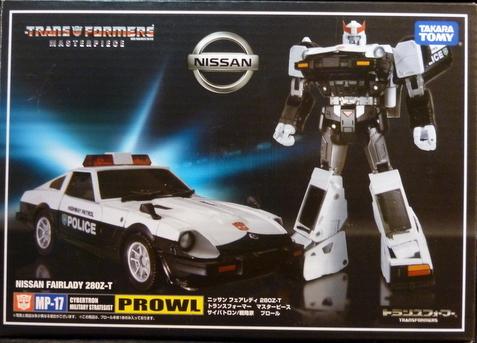Transformers Masterpiece MP-17 Prowl Anime Version Hasbro//Takara Tomy US Seller