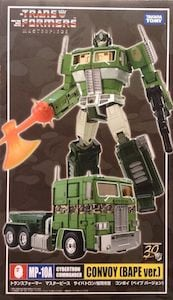 Optimus Prime Convoy Bape Green MP-10A