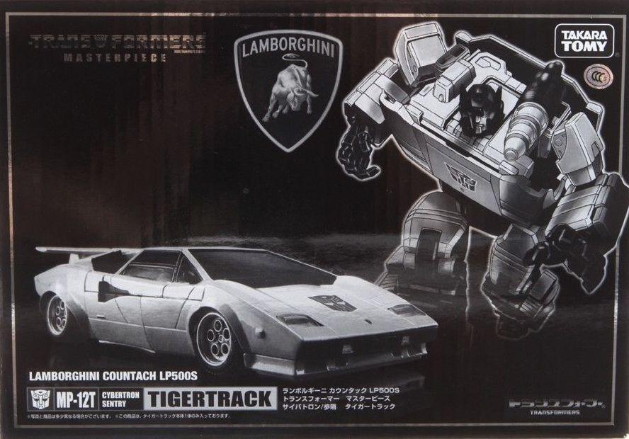 TAKARA TOMY Transformers Masterpiece MP-12T TIGERTRACK Lamborghini Action Figure